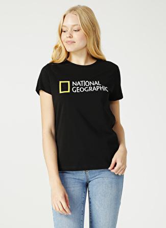 National Geographic Siyah T-Shirt