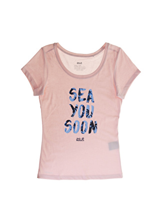Jack Wolfskin Sea You Soon T W T-Shirt