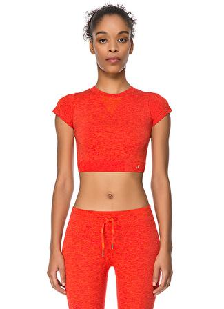 Jerf Captiva Kırmızı Crop Top T-Shirt