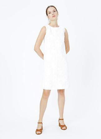 Naramaxx Beyaz Elbise