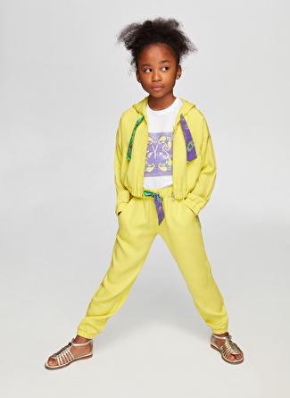 Tyess B&G Sarı Kız Çocuk Eşofman Üstü