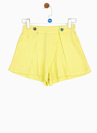 Tyess B&G Sarı Kız Çocuk Etek