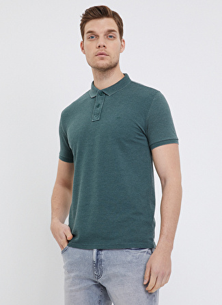 Loft Koyu Yeşil Polo T-Shirt