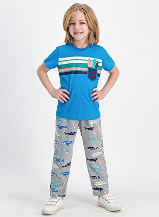 Roly Poly Mavi Pijama Takımı