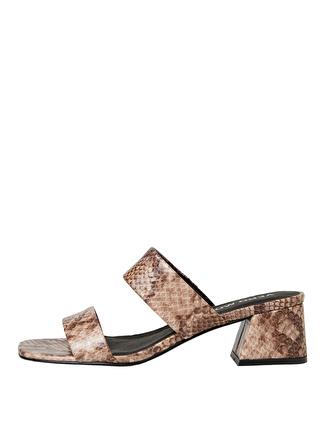 Vero Moda Elia Yılan Desenli Sandalet