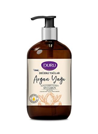 Duru Değerli Yağlar 500 ml Nemlendiricili Argan Yağı Sıvı Sabun