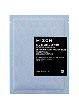 Mizon Enjoy Vital-Up Time Nourishing Mask - Besleyici Avokado Ekstreli Maske