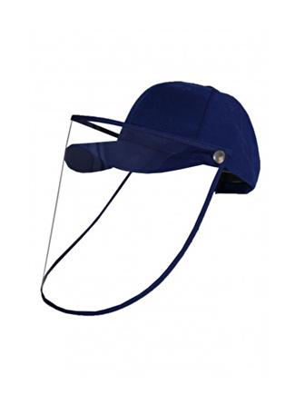 Bay Şapkaci Koruyucu Yüz Siperli Saks Şapka