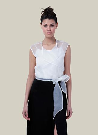 Happysoul Beyaz Bluz