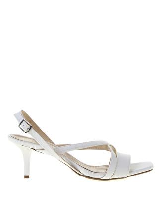 Sole Sisters Gawker Beyaz Sandalet