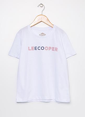 Lee Cooper 202 LCG 242007 Repreve 50 Kız Çocuk O Yaka T-Shirt