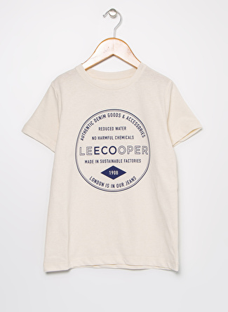 Lee Cooper 202 LCB 242013 Repreve 20 Erkek Çocuk O Yaka T-Shirt