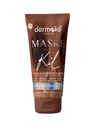 Dermokil Kil ve Kahve İçerikli Sıkılaştırıcı Etkili Maske