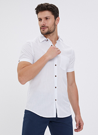 Loft Beyaz Gömlek