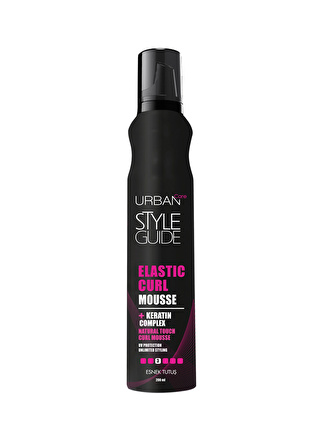 Urban Care Style Guide Curl Mousse