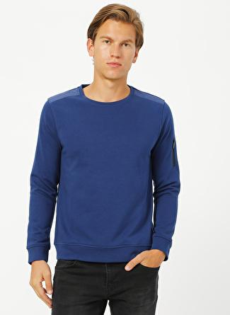 Network Lacivert Sweatshirt