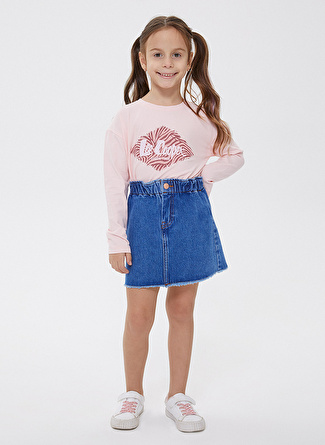 Lee Cooper Mavi Kız Çocuk Etek