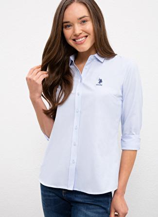 U.S Polo Assn. Açık Mavi Gömlek
