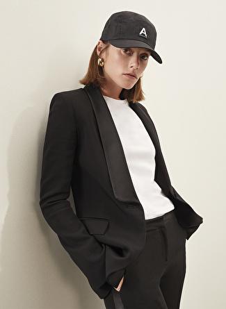 Sorbe x Fabrika Şal Yaka Siyah Ceket