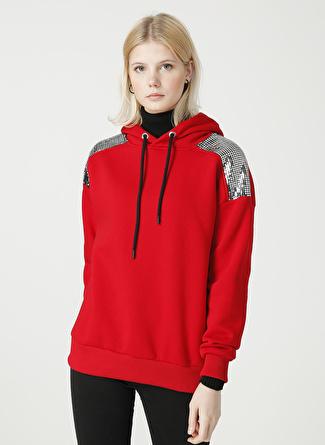 Loft LF 2025278 Red Sweatshirt