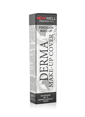 New Well l Derma Cover - 03 Tüp Fondöten