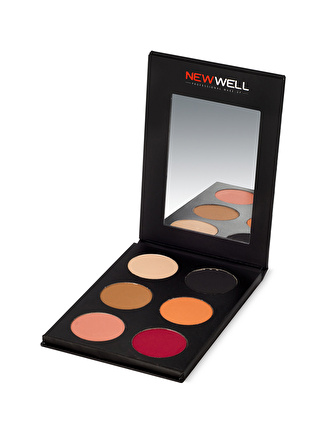New Well Prof. 6 Pcs. Eyeshadow Palette- 52 Göz Farı