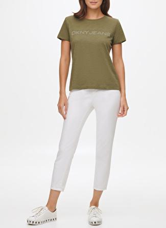 DKNY Logolu Kısa Kollu T-Shirt
