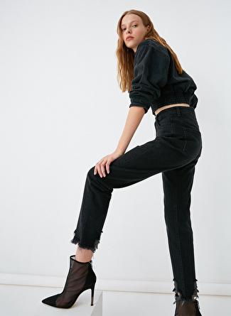 Koton Yüksek Bel Mom Denim Pantolon