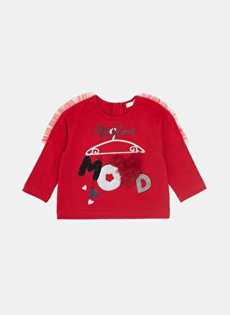 Bg Baby Kırmızı Kız Çocuk T-Shirt