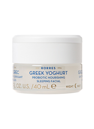 Korres Greek Yoghurt Probiotic Nourishing 40 ml Gece Kremi