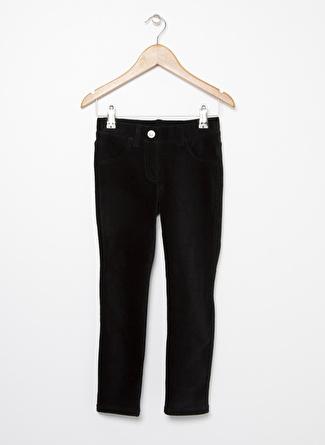 Benetton Siyah Kadife Kız Çocuk Pantolon