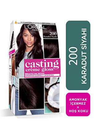 L'oreal Paris L'Oréal Paris Casting Crème Gloss Saç Boyası - 200 Karadut Siyahı