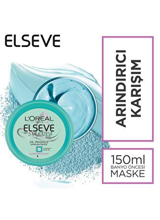 L'oreal Paris L'Oréal Paris Elseve 3 Mucizevi Kil 150ml Banyo Öncesi Kil Maskesi
