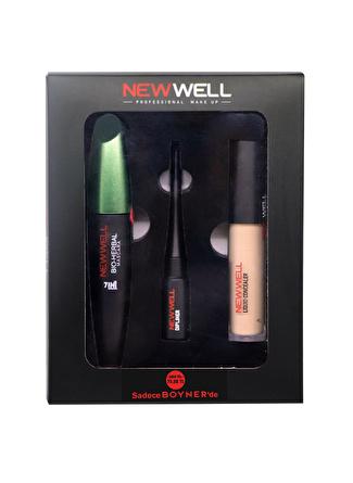 New Well 3'lü Makyaj Set