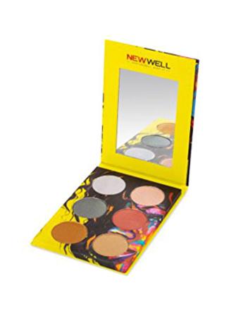 New Well Autumn Eyeshadow (Sarı) 6'lı Göz Farı