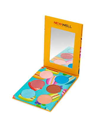 New Well Delicious Eyeshadow (Turuncu) 6'lı Göz Farı