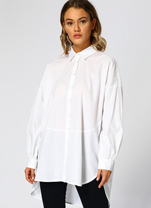 Beymen Studio Beyaz Gömlek 300.0 Tl
