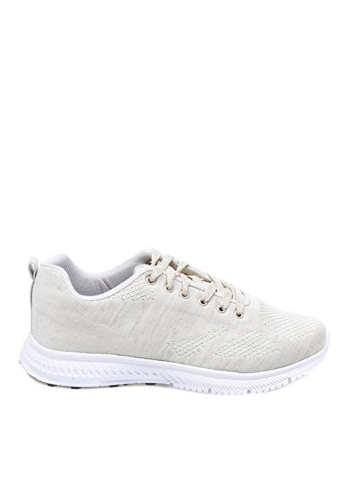 Greyder Kadın Simli Bej Düz Ayakkabı 179.9 Tl