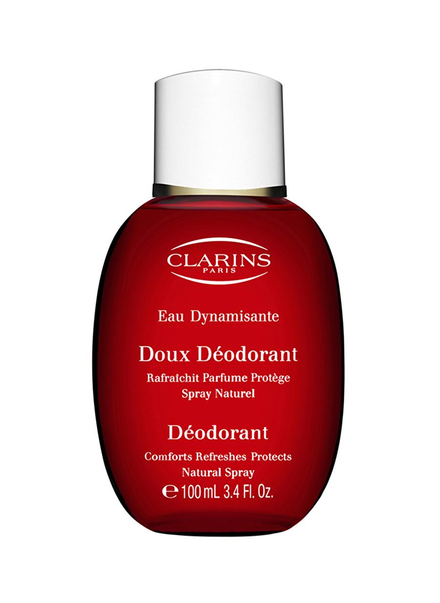 Standart Kadın Renksiz Clarins Eau Dynamisante Gentle Deodorant Vücut Kozmetik Bakımı Spreyi