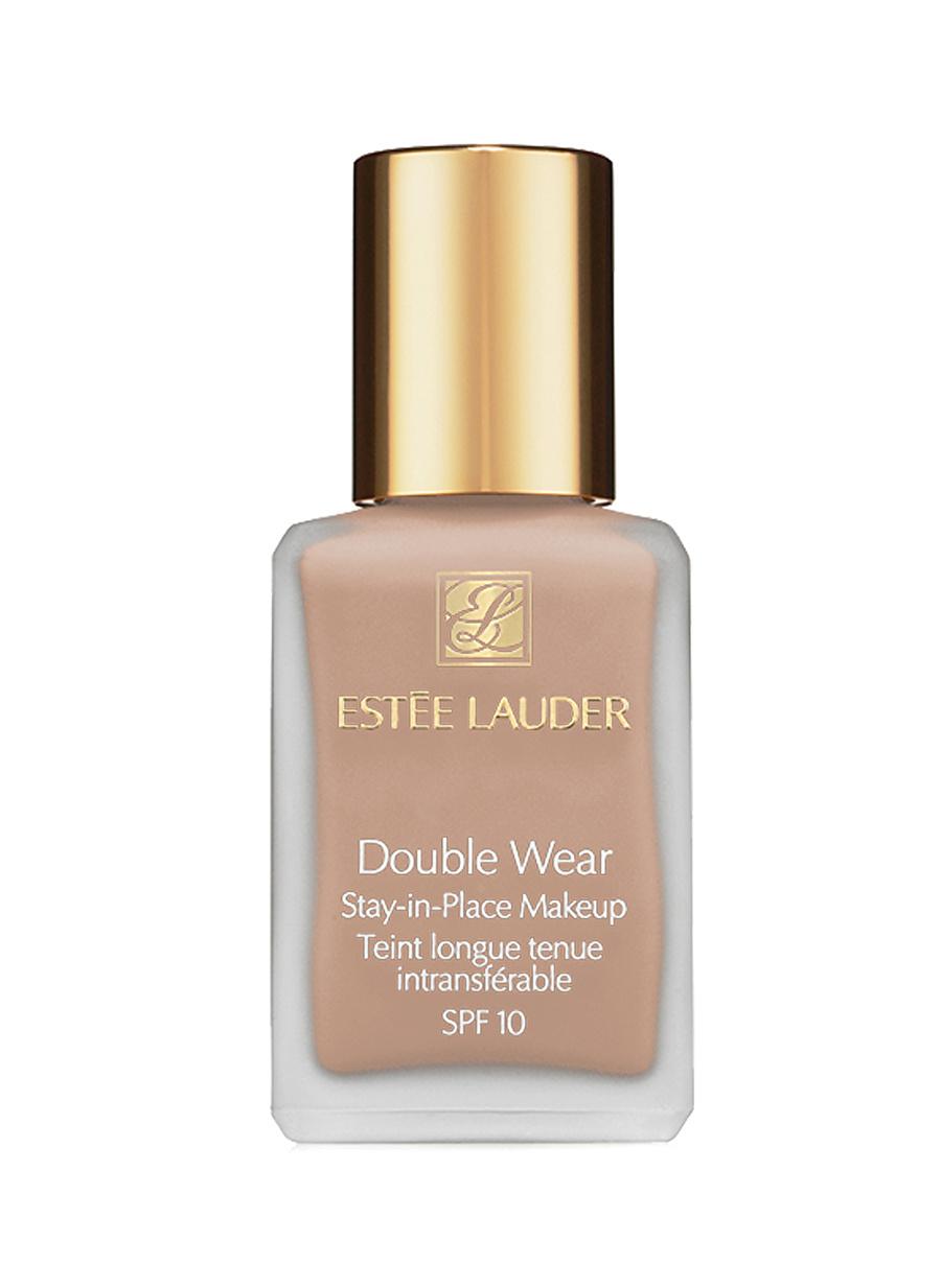 Standart Kadın Renksiz Estee Lauder Double Wear Stay-In-Place Makeup 2C2 Pale Almond 30 ml Fondöten Kozmetik Makyaj Yüz Makyajı