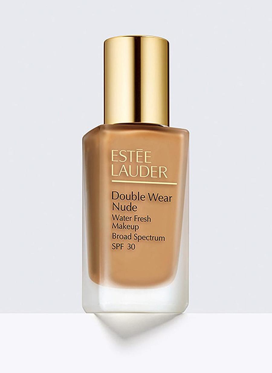 Standart Kadın Renksiz Estee Lauder Double Wear Nude Water Fresh Fondöten Kozmetik Makyaj Yüz Makyajı