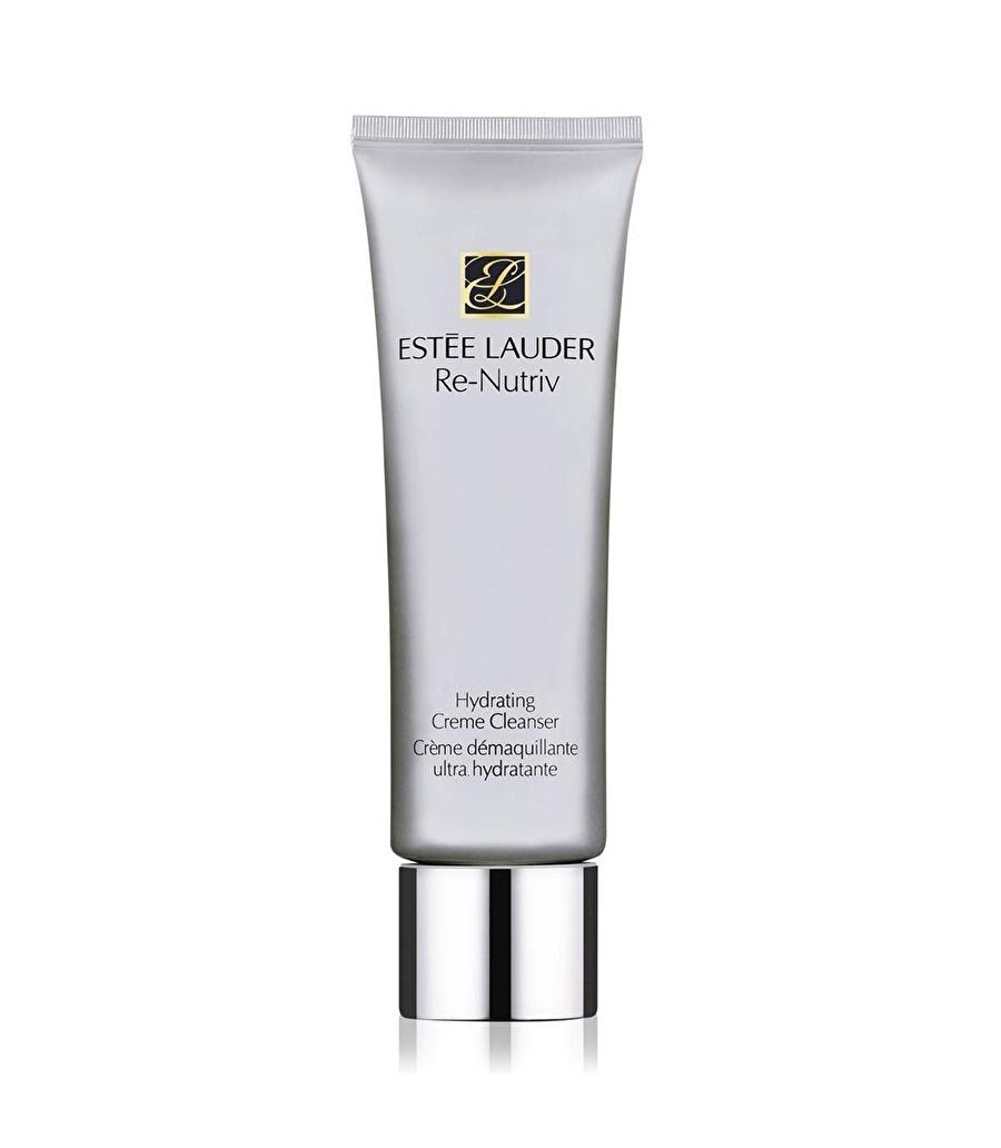 Standart Kadın Renksiz Estee Lauder Nutriv Hydrating Creme Cleanser 125 ml Süt Temizleyici Kozmetik Cilt Bakımı Tonik