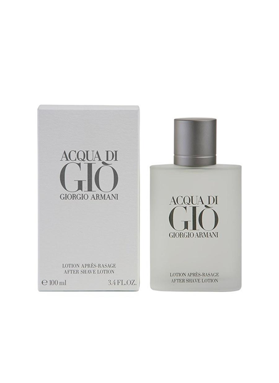 Standart Erkek Renksiz Armani Acqua Di Gio 100 ml After Shave Lotion Traş Kremi Kozmetik Parfüm