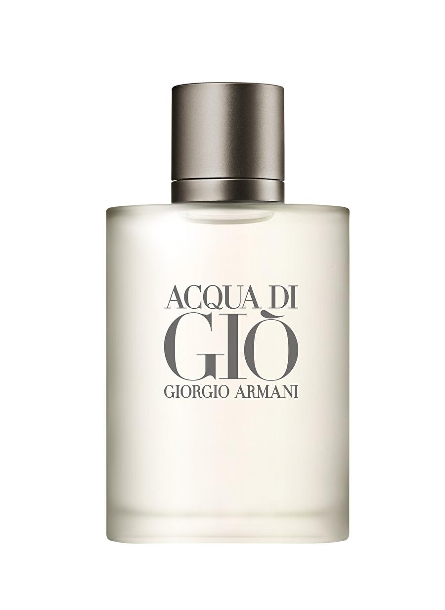Standart Renksiz Armani Acqua Di Gio Homme Edt 100 ml Erkek Parfüm Kozmetik