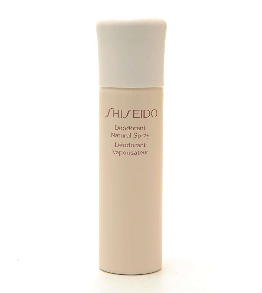 Standart unisex Renksiz Shiseido Deodorant Natural 100 ml Vücut Kozmetik Bakımı Spreyi