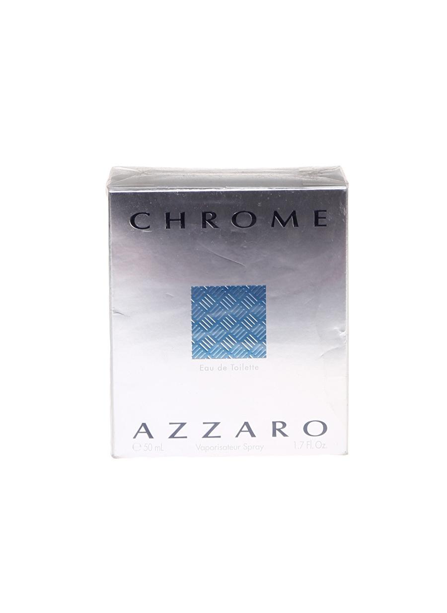 Standart Renksiz Azzaro Chrome Edt 50 ml Erkek Parfüm Kozmetik