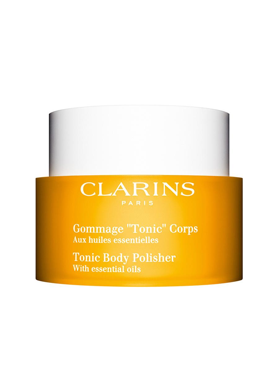 Standart Kadın Renksiz Clarins Toning Body Polisher Vücut Peelıng Kozmetik Bakımı Sıkılaştırıcı