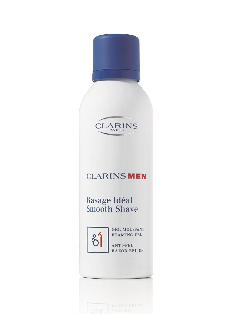 Standart Kadın Renksiz Clarins Men Smooth Shave Foaming Gel Traş Köpüğü Kozmetik Parfüm After