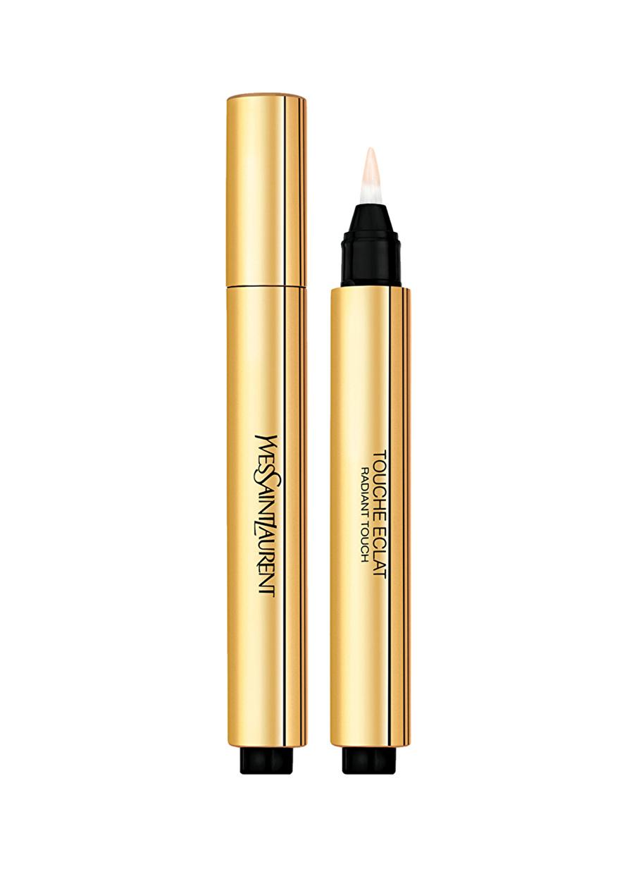 Standart Kadın Renksiz Yves Saint Laurent Touche Eclat 02 Kapatıcı Kozmetik Makyaj Yüz Makyajı