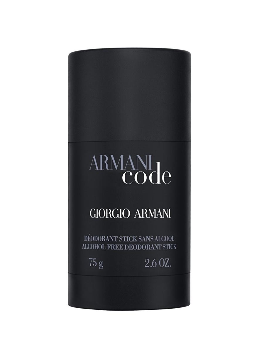 Standart Renksiz Armani Code Stick 75 ml Erkek Deodorant Kozmetik Parfüm